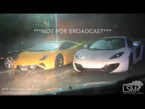 04-21-17 - Plano, TX - Exotic Supercar Dealer (Lamborghini & McClaren) Hit By Hail - Bart Comstock