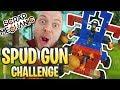 Scrap Mechanic - ULTIMATE SPUD GUN CHALLENGE!! [#63] | Gameplay