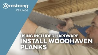 Installing Tongue & Groove Wood Ceiling Planks with Included Parts | Armstrong Ceilings for the Home
