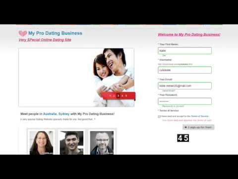 software to create dating website