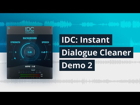 Audionamix Instant Dialogue Cleaner: AI-powered noise remover
