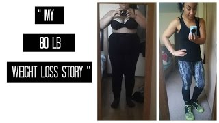MY 80lb WEIGHT LOSS STORY (IN PICS) | AFTER BABY #1