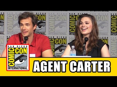 Agent Carter Comic Con 2015 Panel - Hayley Atwell, James D'Arcy, Season 2