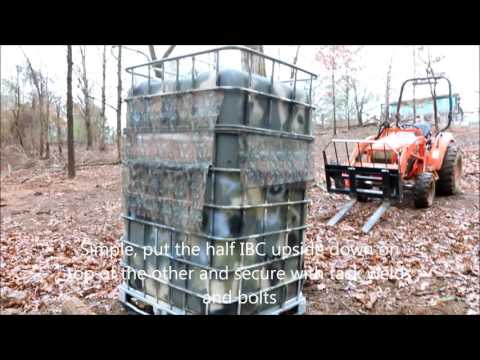 Deer Blinds Build The Ultimate Ground Blind On A Sled