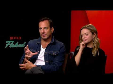 Will Arnett & Ruth Kearney Flaked  Netflix