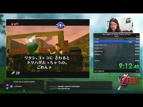 The Legend Of Zelda Ocarina Of Time - Any% - 24:58
