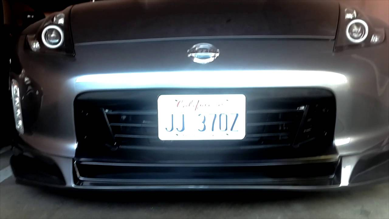 Jj 370z Retractable License Plate Youtube
