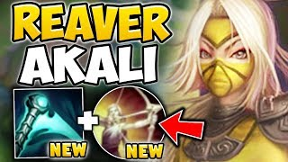 WTF?!? NEW ESSENCE REAVER GIVES AKALI INFINITE Q's! AKALI TOP SEASON 8 GAMEPLAY - League of Legends