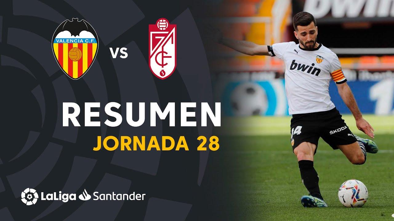 Download Resumen de Valencia CF vs Granada CF (2-1)