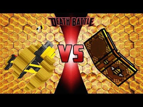 Pixel Gun 3D - Bee Swarm Spell VS Beehive - Mad GunZ