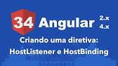 Angular 4 Tutorial 6: Events And @HostListener - YouTube