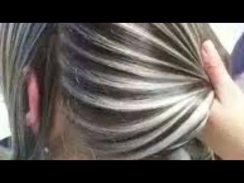 خصل شعر بلاتيني جمال الشعر 1