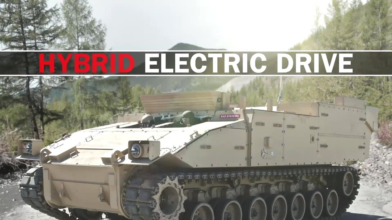 Bae Systems Hybrid Electric Drive Technology The Future Is Here Today 1080p