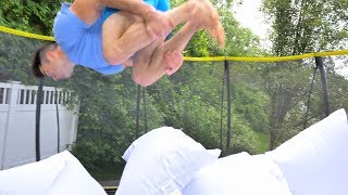 Elevated Trampoline 'Pillow Pit' - DIY