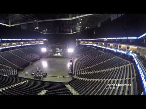 Golden 1 Center Changeover Time Lapse