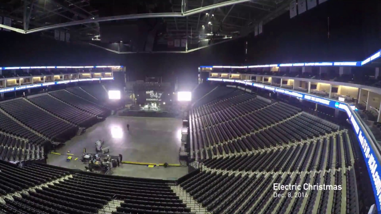Golden 1 Center Changeover Time Lapse - YouTube