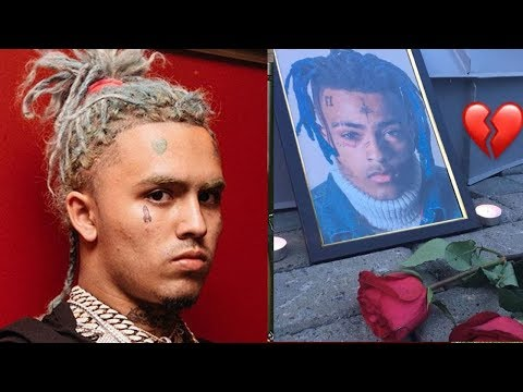Lil Pump Reacts to Man DESTROYING XXXTentacion Memorial in Russia