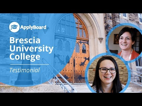 Exclusive ApplyBoard Partnership Testimonial - Brescia University College