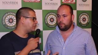 Eugénio Bastos Lidera Dia 1 da Etapa #10 Solverde Poker Season 2016