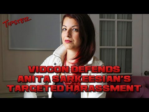 ANITA SARKEESIAN ENGAGES IN TARGETED HARASSMENT AT VIDCON AND STAFF DEFEND HER!? | Rant