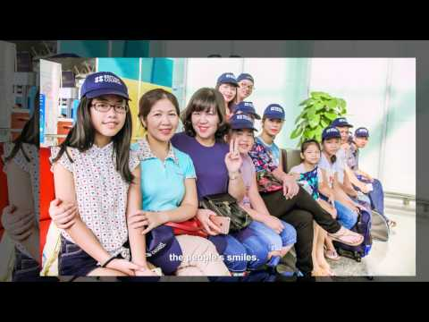Singapore-Vietnam EduTour visits Summer Study Camp 2016