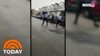 Violence In Philadelphia Follows Fatal Police Shooting Of Black Man With Knife | TODAY