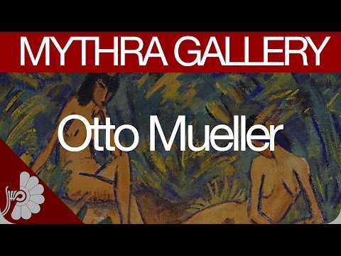 Otto Mueller's complete artworks (Art Paintings)- German Pai