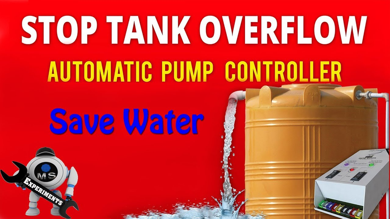 Automatic Domestic Water Tank Overflow Control Pump Off System Level Indicator Circuit Simple Electronic Schematics And Fun Desi Jugaad