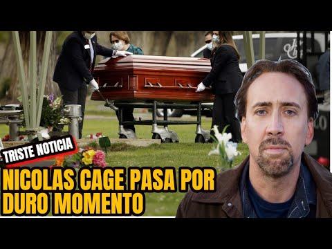 🙏🏼💔⚫¡TRISTE NOTICIA !PARA EL FAMOSO ACTOR DE HOLLYWOOD NICOLAS CAGE