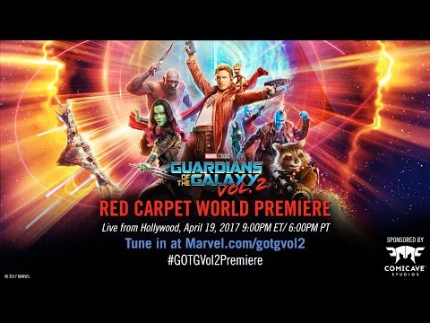 Red Carpet World Premiere: Marvel Studios' Guardians of the Galaxy Vol 2 Coming Soon