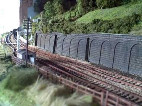 00 gauge model railway Amber-ton on sea freight trains 2.View my channel for more videos.