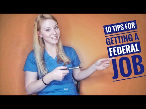 10 Tips For Getting A Federal Job: UsaJobs, Interview, Laboratory