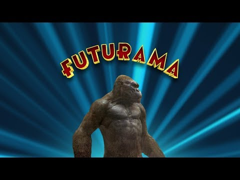 King Kong Reference in Futurama