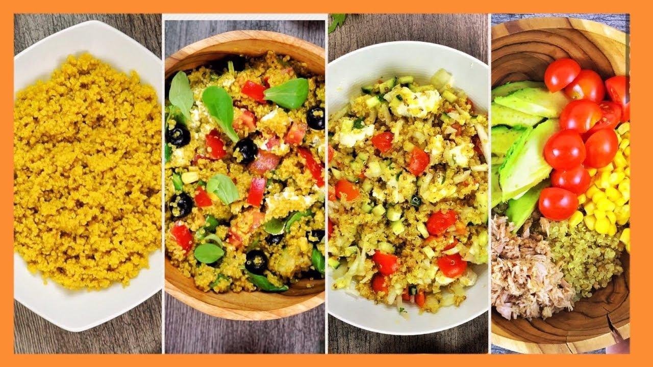4 Ensaladas de Quinoa y Cómo prepararla