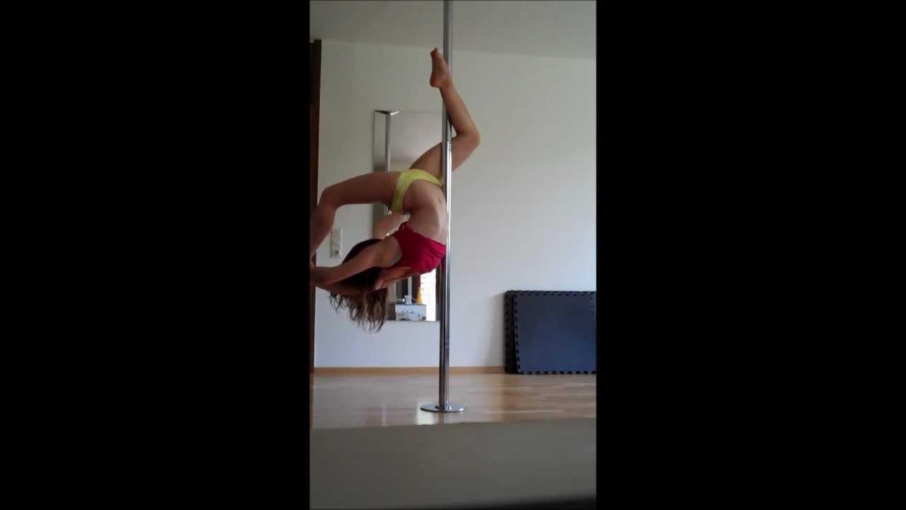 18 pole dance anastasia sokolova pole dance tricks new 2015 - 1 5
