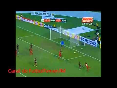 México 0-1 Portugal Torneo Internacional Femenino Sao Paulo, Brasil 2012