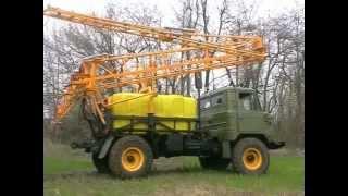 ГАЗ-66 Опрыскиватель ОПК 2000 пгт Фащевка