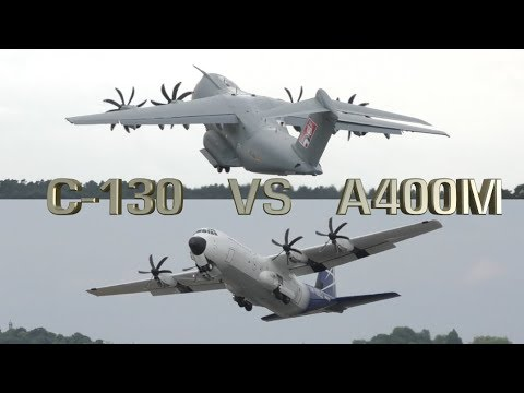 Hercules C-130 vs Airbus A400M Which one Better ?
