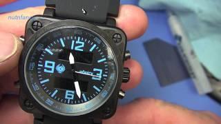 Homemade watch crystal protector- nutnfancy