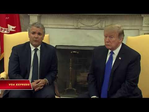 Tổng thống Colombia muốn chấm dứt chế độ độc tài Venezuela (VOA)