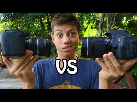 Canon T5i VS 70D What's The Difference