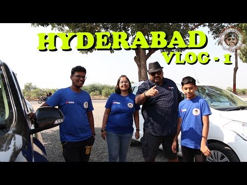Vlog 1 || Pune to Hyderabad Highway Fun || Haunted Service Apartment