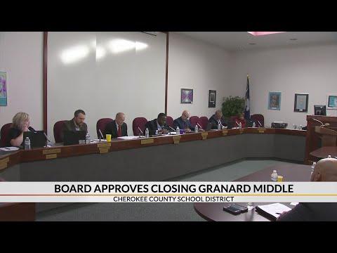 School board approves closing Granard Middle School
