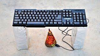Keyboard VS Big Diwali Anaar   Crazy Experiment  