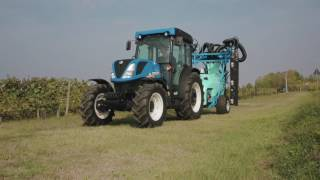 New Holland renews specialty tractor offering with new T4 FNV Series and TK4 crawler models