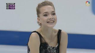 2016 Europeans - Elena Radionova FS NBC