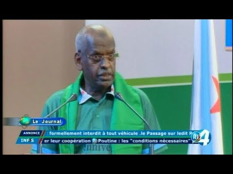 Télé Djibouti Chaine Youtube : JT Somali du 29/09/2017