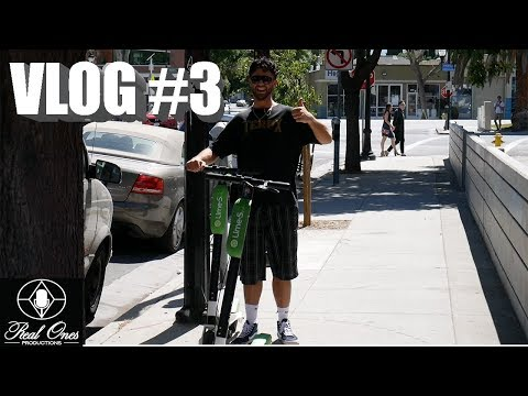 CCC VLOG #3: RAGING ELECTRIC SCOOTERS