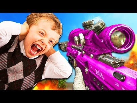 GIRL GAMER TRIGGERS ANGRY KID IN EPIC 1V1! (Call of Duty Trolling)