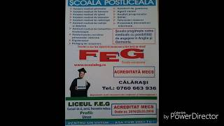 ",,Pentru un viitor..asa cum vrei"" - Imn FEG Calarasi-Full HD"